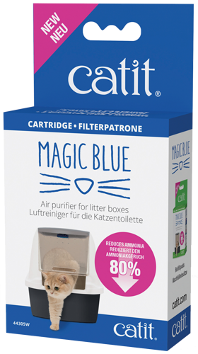 Catit Magic Blue Geruchsbinder Starter Set