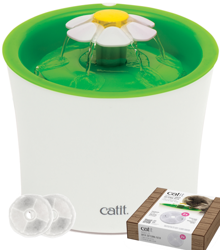 Catit 2.0 Flower Fountain Trinkbrunnen mit Filter